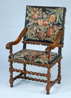 Armchair, 3rd quarter 17th century - Rijksmuseum Amsterdam - Museum for Art and History