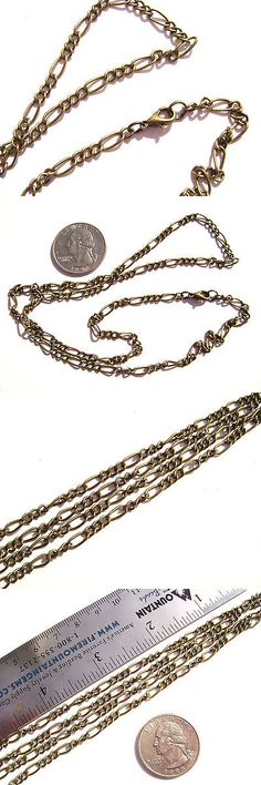 16 Feet 1mm Brass Cable Chain Twisted Cross Necklaces Chains for Jewelry Making