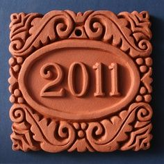 clay slab name plate - Google Search