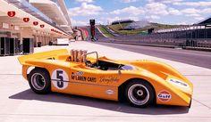 The McLaren M8A