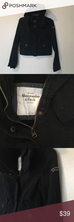 A&F Jacket Size Large Excellent condition 😍 No trade 🚫 No model 💃🏻 Abercrombie & Fitch Jackets & Coats