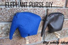 ELEPHANT PURSE DIY | MY WHITE IDEA DIY