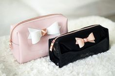 Ted baker makeup bag! Would make an adorable pencil case!!! Rissa xo