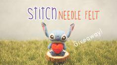 Needle Felted Stitch Tutorial