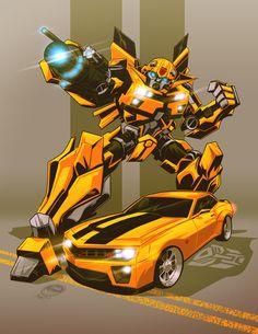Bumblebee - Transformers - Eryck Webb