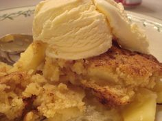 Warm Apple Crisp. I've made this twice in the last 3 weeks, works great with gluten free flours.