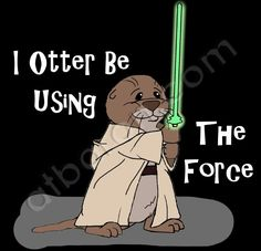 I Otter Be Using The Force