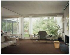 Walter Gropius House. Living Room.
