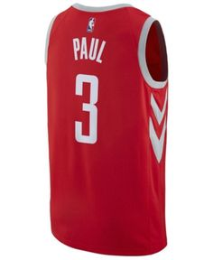 d94c14ae116 Nike Men's Chris Paul Houston Rockets City Swingman Jersey - Red XXL