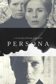 Persona, a film by Ingmar Bergman  Design by Elizangela Silva