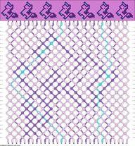 Unicorn Bracelet Pattern. :D