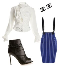 """""""work but play too!"""" by ladyp81 on Polyvore featuring Vivienne Westwood and Gianvito Rossi"""