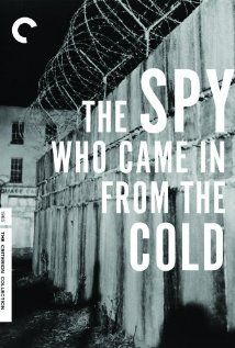 """The Spy Who Came in from the Cold."" (1965).  British agent Alec Leamas refuses to come in from the cold war during the 1960s, choosing to face another mission.  This is a great classic, with Richard Burton Oskar Werner, and Claire Bloom. I thoroughly enjoyed this film."