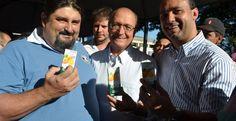 Máfia da merenda, distribuía suco de laranja em eventos do governador tucano do PSDB