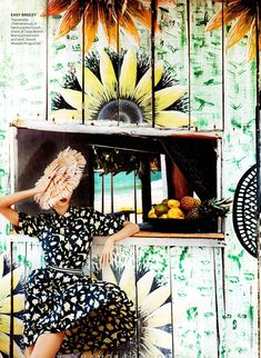 Karlie Kloss | Mario Testino | Vogue US July 2012 | Brazilian Treatment