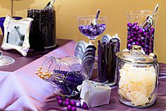 From Jessica and Arturo's wedding at Margaret Gardens in New Orleans.  I love the Candy Bar and the colors are to die for!  Julie, Jessica's sister, designed this, carrying all of it on the plane!