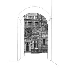 Minty Sainsbury is a London based Artist specialising in architectural pencil drawings. Architecture Drawing Sketchbooks, Architecture Collage, Conceptual Architecture, Building Drawing, Building Art, Textiles Sketchbook, Architectural Prints, A Level Art, Urban Sketching