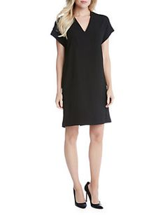 Karen Kane - Sophie Crepe Shift Dress