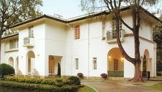 chief executive's Fanling Lodge and the clubhouse at the Hong Kong Golf Club
