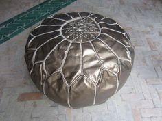 Copper pouf