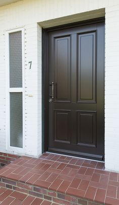 Facials, Exterior Doors, Tall Cabinet Storage, Garage Doors, Outdoor Decor, Home Decor, Building Homes, Windows, Decoration Home