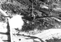 Korean War - HD-SN-99-03100 by Morning Calm News, via Flickr  Lt. R. P. Yeatman, from the USS Bon Homme Richard, is shown rocketing and bombing Korean bridge. November 1952. (Navy)  Exact Date Shot Unknown  NARA FILE #: 080-G-639948  WAR & CONFLICT BOOK #: 1441