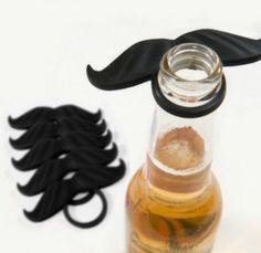 Coed Baby Shower Prize Ideas - the bottle mustache!