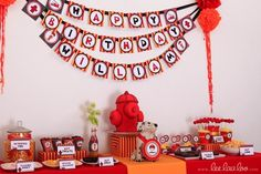 "Photo 1 of 34: Firetruck, Fire Engine / Birthday ""Fire Fighter Party"" 