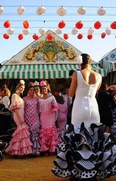 Feria de abril, Sevilla, España. Spain