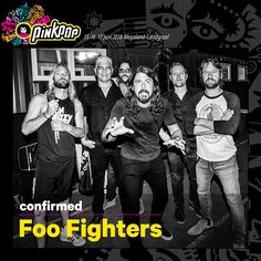 Foo Fighters will play Pinkpop Festival 2018