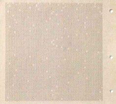 Emmett Williams, Tipogramma O, visual poem, Fluxus Editions, N.Y., 1964
