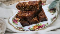Chocolate and Biscoff Flapjack