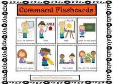 On the first day of class students learn the vocabulary related to inside classroom actions. Make it easy for them to understand and respon...