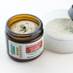 """We make out toothpaste and toothpowder using ingredients straight from Mother Earth. We also like to say """"brush your teeth with dirt!"""" Sounds strange, but using natural dental care products is nothing shy of effective. Make the switch now! #dentalcare #teethwhitening #oral #oralhealth #natural #organic #products #primallifeorganics #vegan #paleo #crueltyfree"""