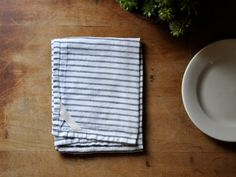 Dish towel  by Claire Tipley of small batch production. #LuisaBrimble