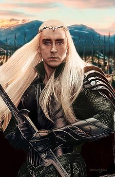 OKAY My last pin on this board for a while - The Elvenking and I are taking a break. (I'll explain why if/when I come back) In the meantime, followers, I leave the Woodland Realm in the capable hands of @kneelanddeduce - be good, my minions! Elen sila lumenn' omentielvo xxx