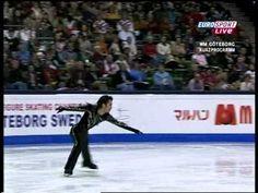 2008 W Daisuke Takahashi SP Brit Eurosport - YouTube