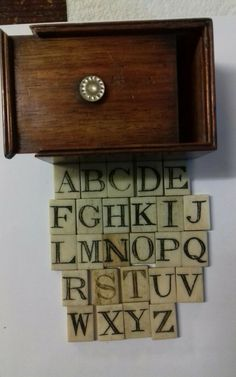 RARE ANTIQUE NAPOLEONIC PRISONER OF WAR CARVED ALPHABET SET IN BOX CIRCA 1810 | eBay