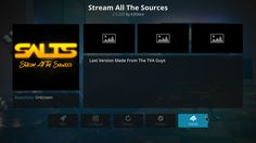 How To Install Salts Stream All The Sources Movie Add-on On Kodi 17 – Your Streaming TV