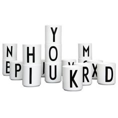 Arne Jacobsen mug - I would like to have a P