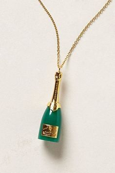 Champagne Necklace - anthropologie.com #Anthrofave
