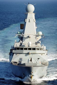 HMS Daring D 32 class Type 45 Guided Missile Destroyer Royal Navy