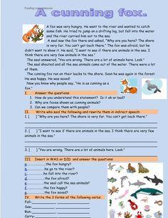 English Short Stories, English Lessons, English Grammar, Grammar Book, English English, Comprehension Worksheets, Reading Comprehension, Kids Reading, Teaching Reading