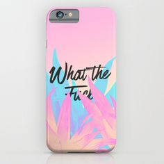 What the f**k iPhone & iPod Case