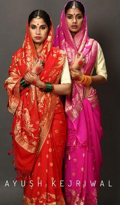 Benarsi Saree, Saree Poses, Bandhani Saree, Kanjivaram Sarees, Indian Dress Up, Indian Attire, Indian Outfits, Simple Sarees, Indian Bollywood Actress