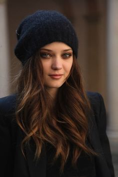 And more updated beanie styles are surprisingly feminine-looking with long hair… | 14 Reasons You Should Definitely Wear More Hats