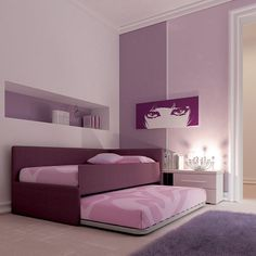 Pin by Moretti Compact on Arredamento VIOLA | Pinterest | Kids rooms ...