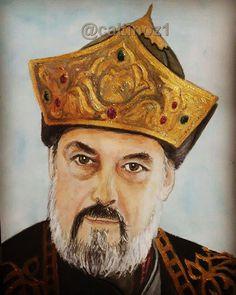 Sultan Alaeddin Keykubat -canlandiran oyuncu Burak Hakkı