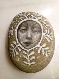 Crying stone, What an adorable piece of art...this has inspired me to create some similar pieces!!!