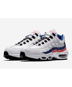 best sneakers 21815 57336 Nike Air Max 95 Ultramarine New Red Blue Black White Trainer,Valentine s  Day limited edition